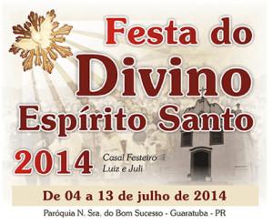 Festa do Divino de 04 A 13 DE JULHO em Guaratuba