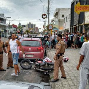 Homem armado invade casa lotérica em Guaratuba