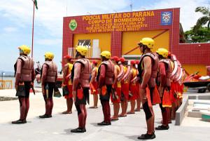 Base Náutica dos Bombeiros é inaugura em Guaratuba