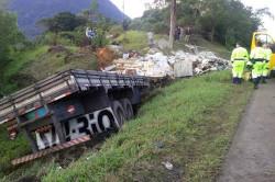 Acidente na BR-101 em Guaratuba