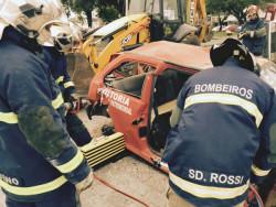 simulado de resgate veicular ocorrido em Guaratuba