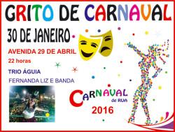 grito de carnaval em Guaratuba