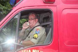 Sargento do Corpo de Bombeiros se aposenta após 35 anos de serviço prestados em Guaratuba